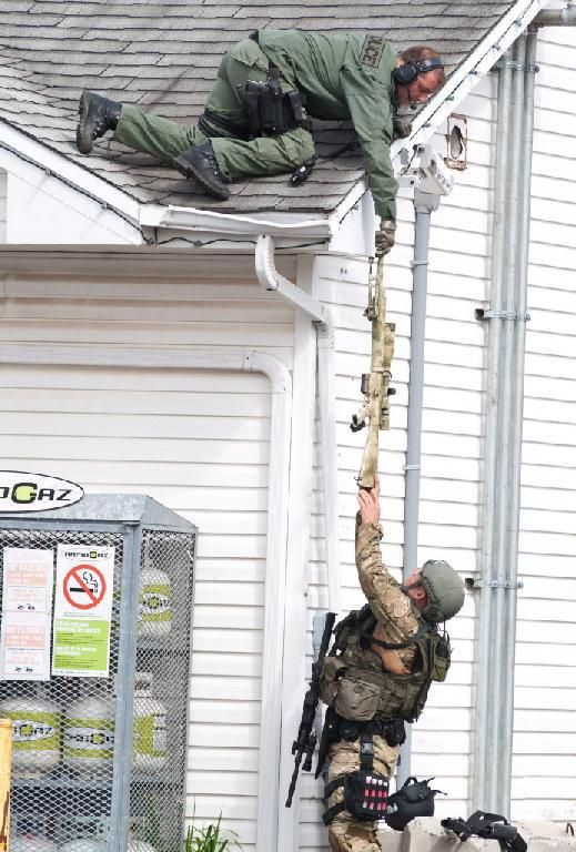 RCMP ERT member and ERT sniper in Moncton, NB.