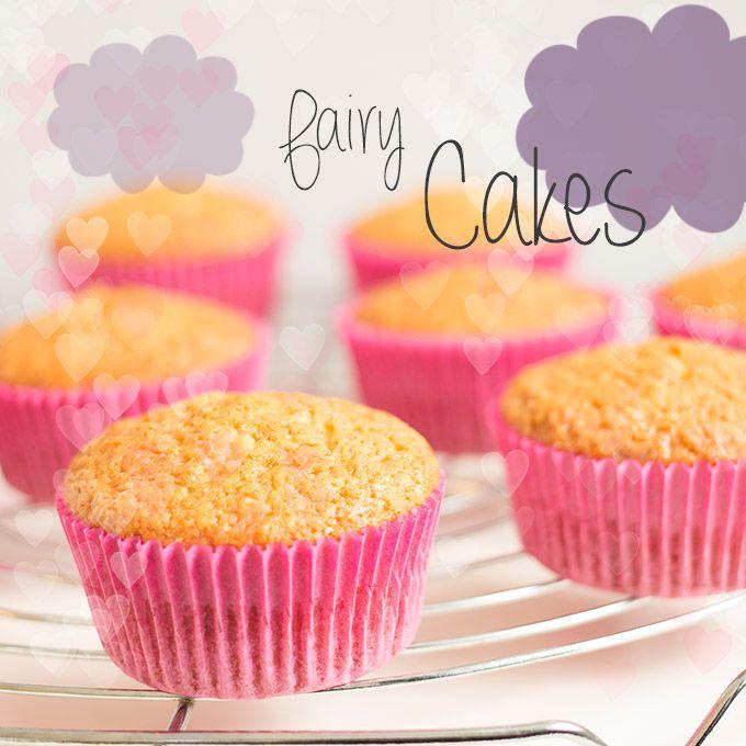 GRUNDREZEPT FÜR VEGANE CUPCAKES - Cupcakes werden in Großbritannien auchFairy Cakesgenannt - Feen-Kuchen :). Absolut niedlich, oder? Und nur weil man sich vegan ernährt, soll man nicht auf diese geballte Süße verzichten müssen ;)...
