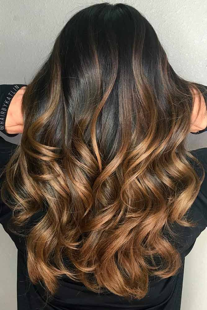 24 Trendy Black Ombre Hair Ideas To Pull Off Ombre Hair Color For Brunettes Balayage Long