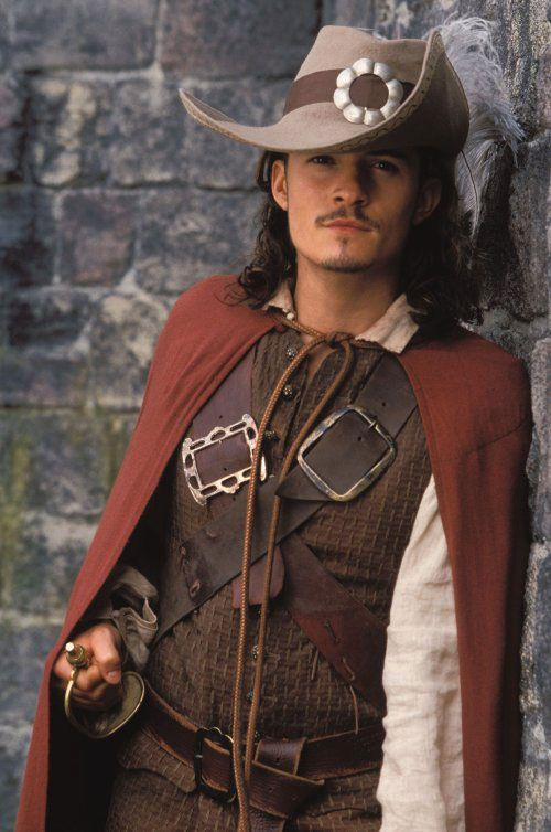 "Orlando Bloom as Will Turner in ""Pirates of the Caribbean"""