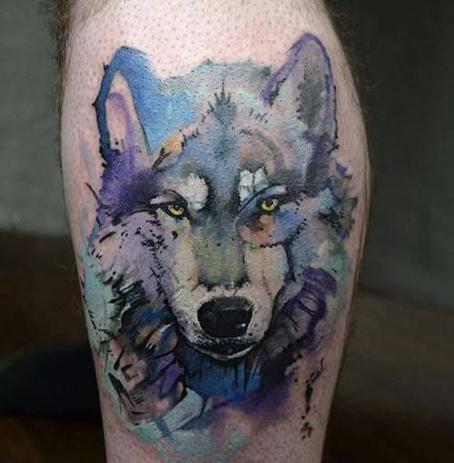 Pin em lobo