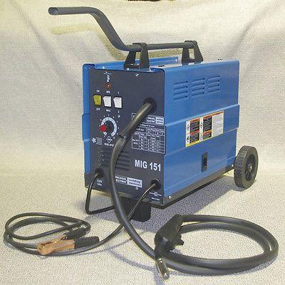 Chicago Electric Mig 151 Welding 230V 120AMP Flux Wire Welder Free Shipping 26kg