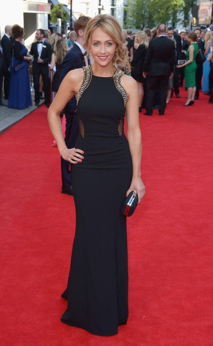 Samia Ghadie at the BAFTAS 2014 #SamiaGhadie #BAFTAS #2014