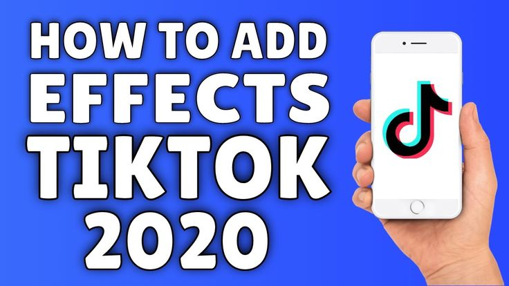 How to add effects on tiktok 2020 tik tok effects for