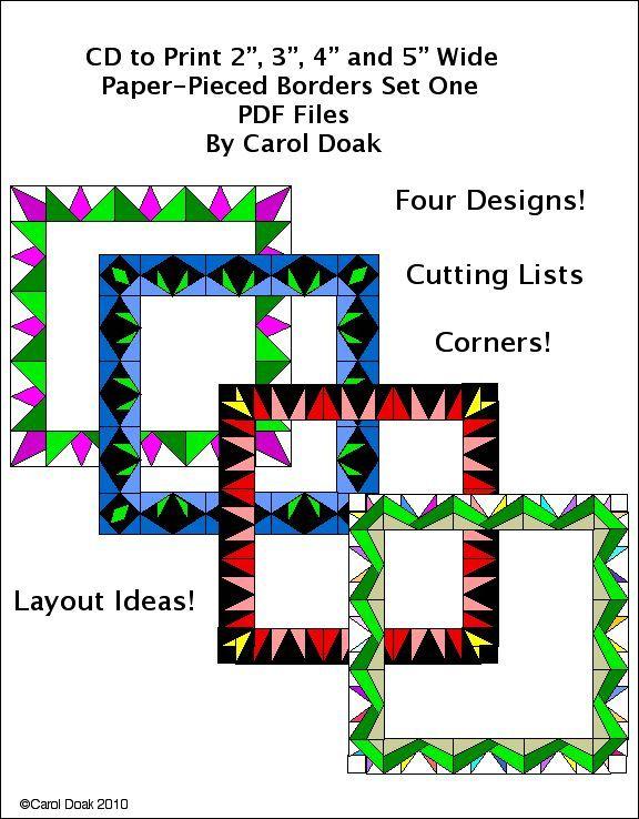 112 best Quilt borders images on Pinterest | Quilting ideas, Quilt ... : pieced quilt border ideas - Adamdwight.com