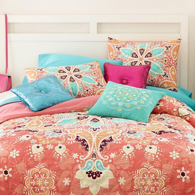 Seventeen Kaleidoscope Comforter Set & Accessories ...