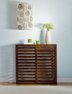 15 Ideas To Hide Ugly Radiators By Making Them Looks Like Sideboards | Shelterness