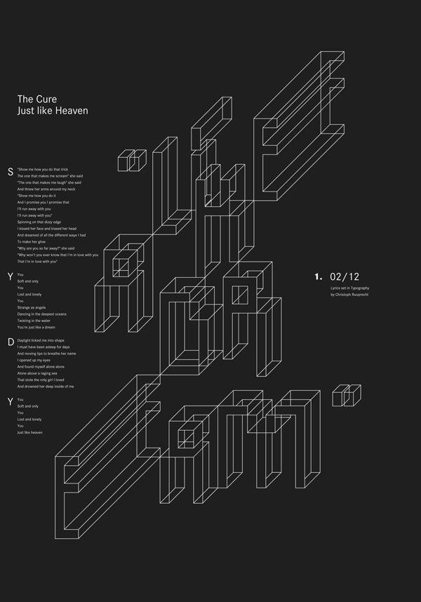 Random : Personal Experiments by Christoph Ruprecht, via Behance