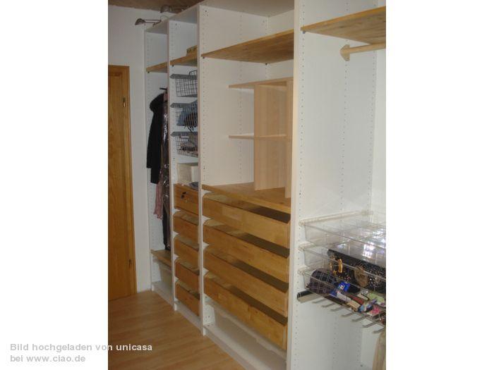 SCHRANK BEGEHBAR (3) Ikea PAX Schranksystem