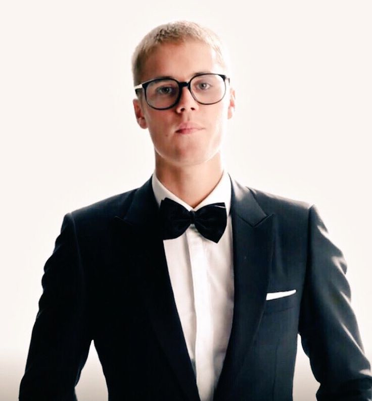 Justin Bieber in his new commercial