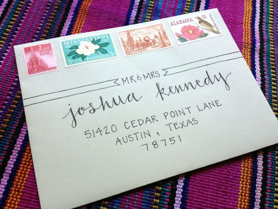 Handwritten Envelopes   Inverted Arrow Style by LaPlumaFeliz, $1.00