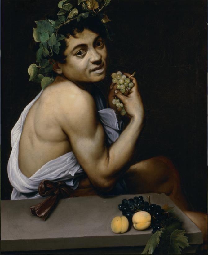 Autoritratto come Bacco Caravaggio