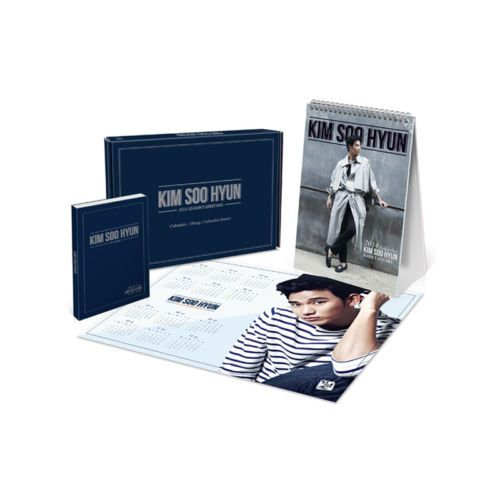 [2014 Star Season Greeting]- Kim Soo Hyun (Table Calendar+Diary+Poster Calender)