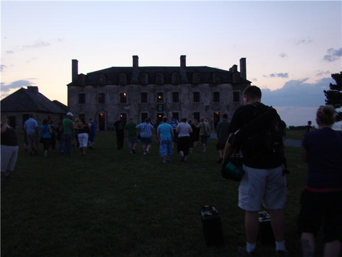 Old Fort Niagara Haunted Fortress Tour: October 22 and 29th