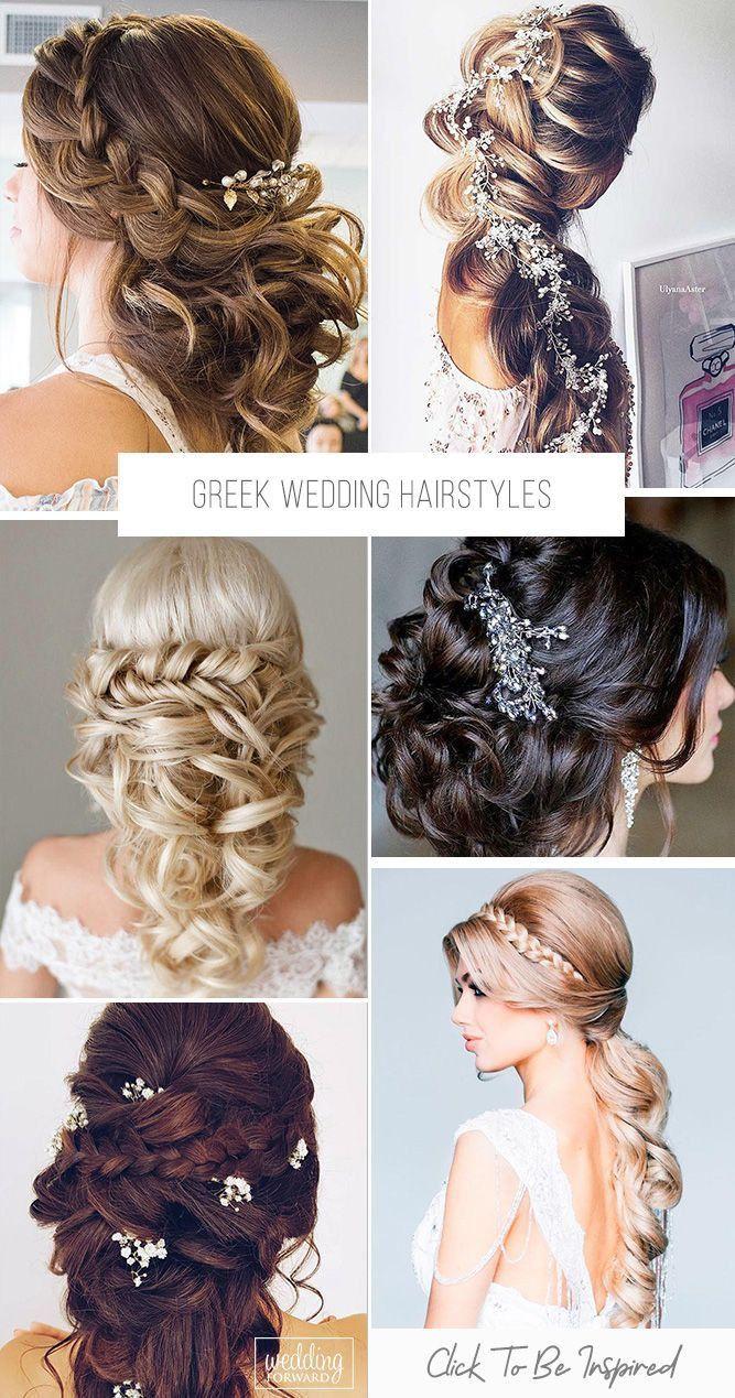 30 Greek Wedding Hairstyles For The Divine Brides 39 Greek