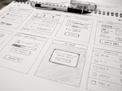 Sketches for an App