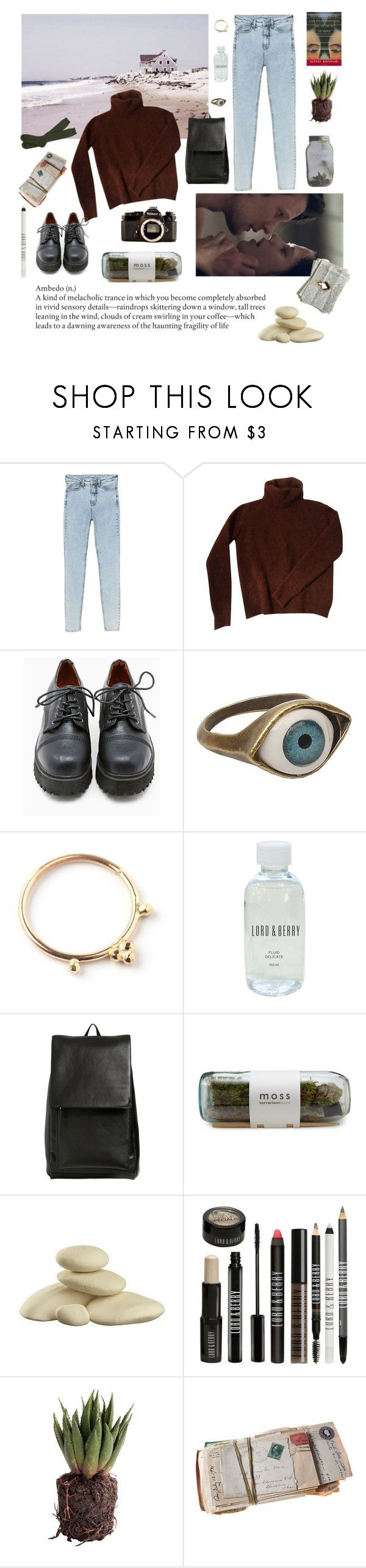 """Lost in one dark wave"" by asdf-fdsa on Polyvore featuring womb, Monki, Fendi, Sixtyseven, Retrò, Bullet, Lord & Berry, Marni, CB2 and Nikon"