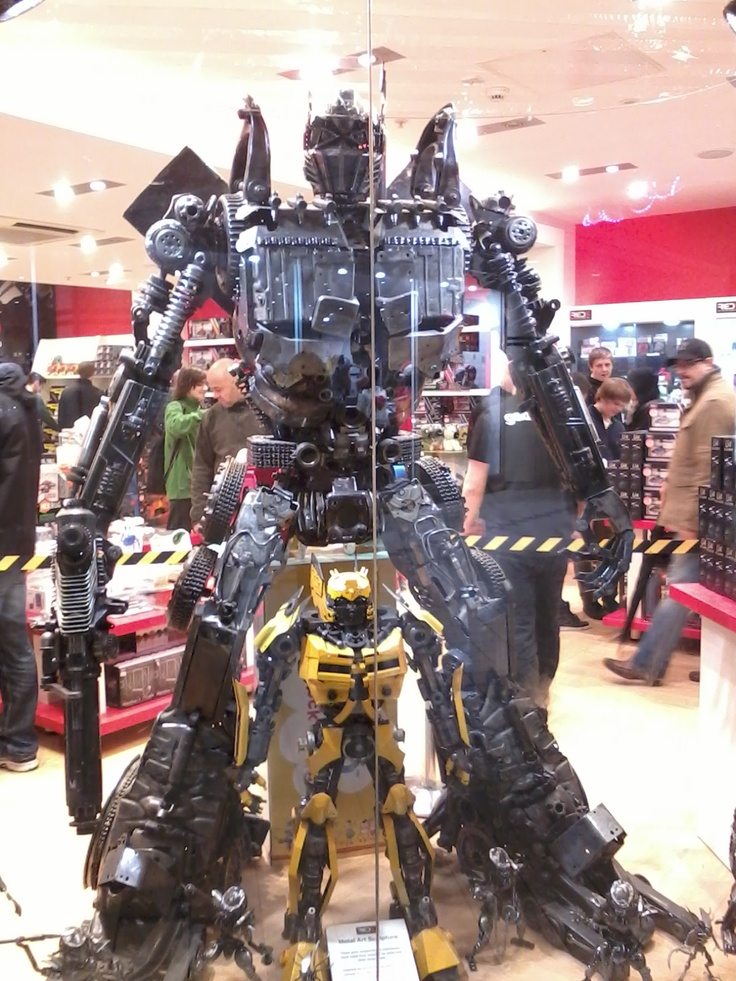 Transformers stud in a shop..............