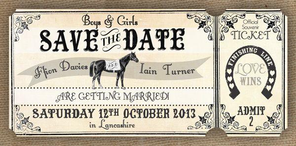 Wedding Theme: A Day At The Races - Alice In Weddingland Wedding Blog