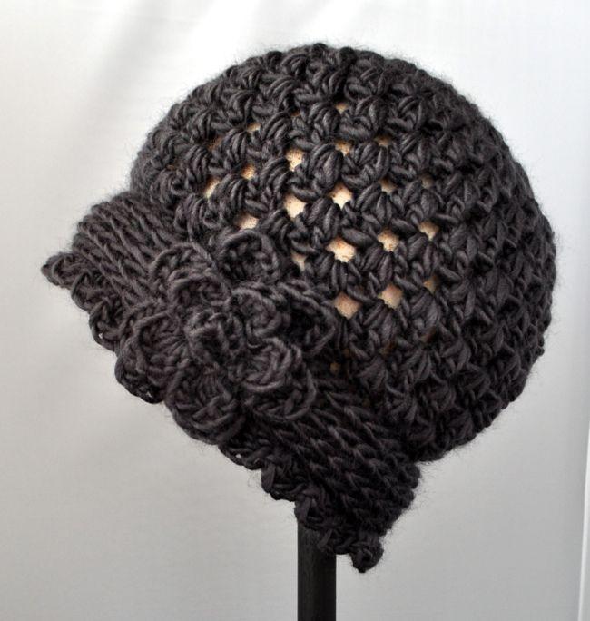 Free Vintage Crochet Hat Pattern                                                                                                                                                      More