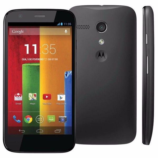 Smartphone Motorola Moto G 16GB 3G Tela 4.5P Câmera 5MP XT1034 - Preto Bvolt Preto Bvolt