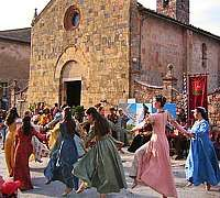 Monteriggioni and its Medievale festival