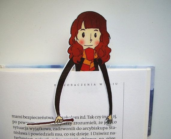 Hey, I found this really awesome Etsy listing at https://www.etsy.com/uk/listing/262079620/hermione-harry-potter-bookmark