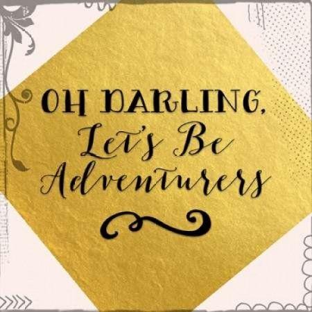 Lets Be Adventurers Canvas Art - Tara Moss (24 x 24)