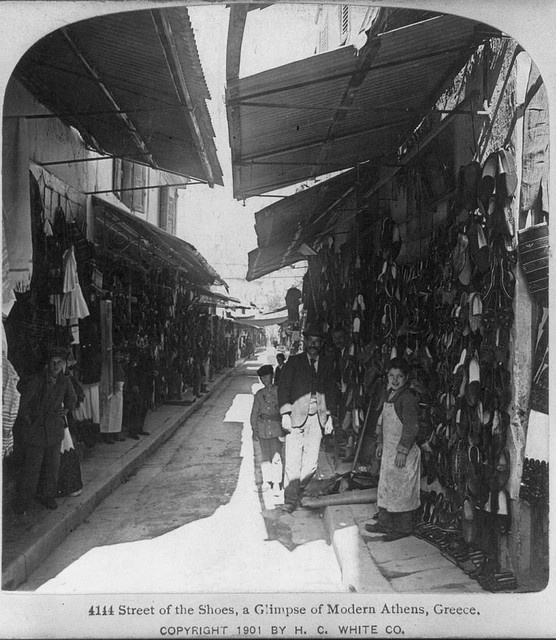 athens street of shoes l901 by janwillemsen, via Flickr