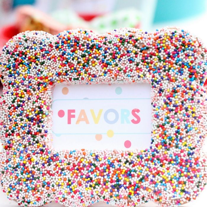 Sprinkle Party Decor - B. Lovely Events