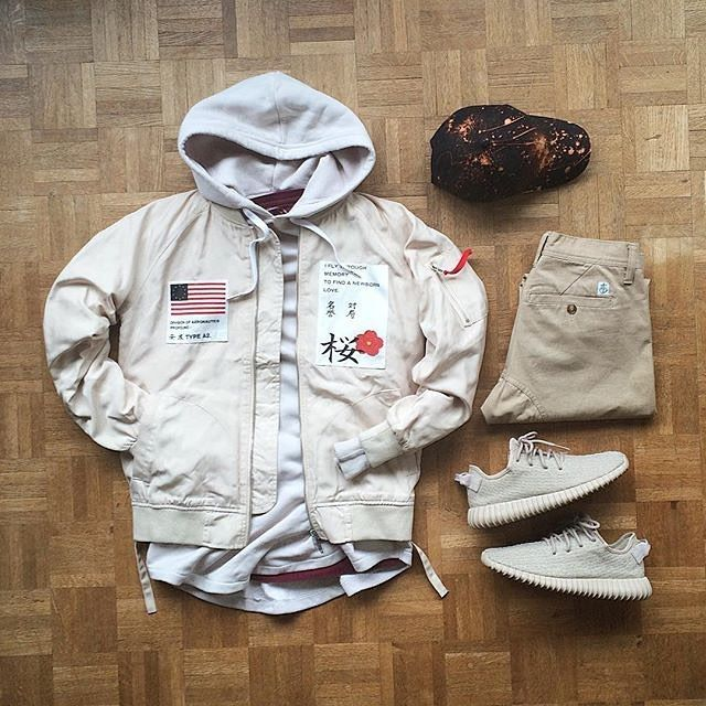 WEBSTA @ frenchoutfit - #FrenchOutfit @owaishsb• Hoodie #Hm• Jacket #ProfoundCo•…