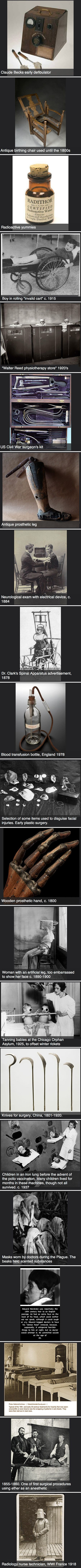 Here are some creepy medical pictures from the past that might scare you.