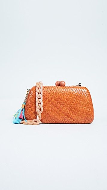 Tina Clutch - Shopbop #woven #clutch #bag #handbag #affiliatelink
