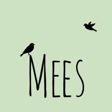 Hip #geboortekaartje Mees | naam met vogels