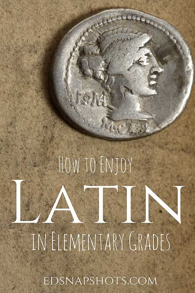 Latin Games and Curriculum for Elementary. How to enjoy Latin with your elementary homeschool student. This is a fun approach with Latin games and printables.