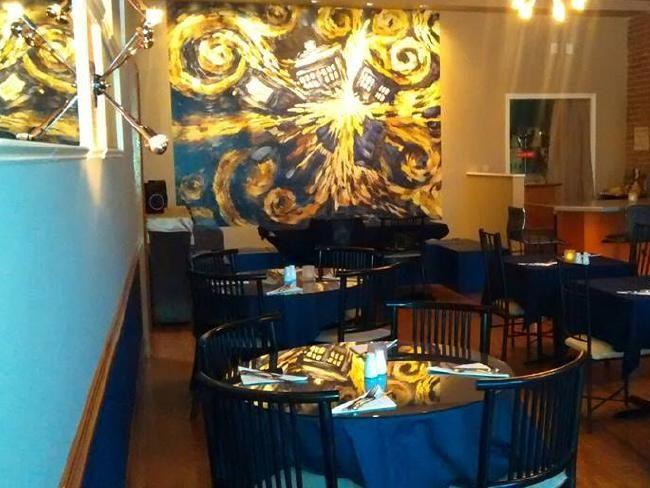Doctor Who themed bars & restaurants