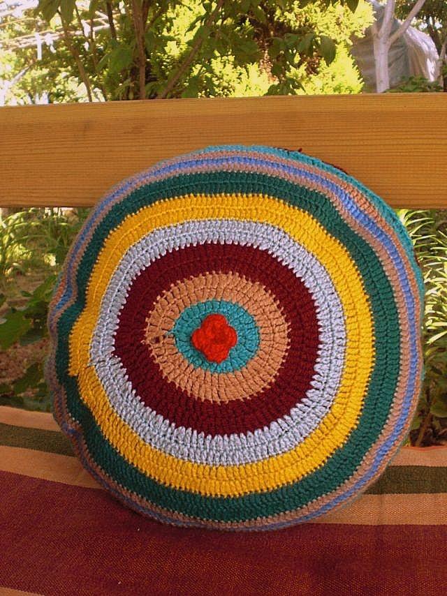 My First Crochet Pillow