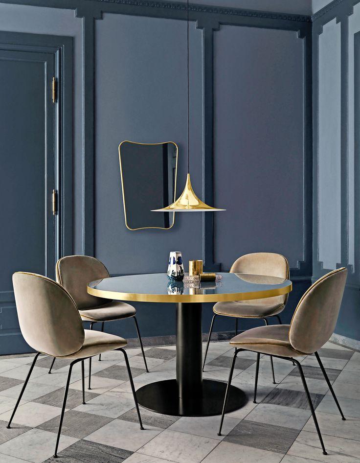 Soggiorno Anni 50 50s Style Dining Room O Tavolo By Gubi Sedie