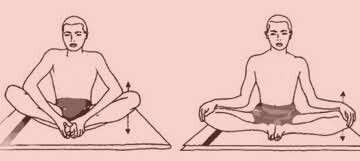 Butterfly pose and variation