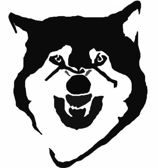 25 best ideas about wolf stencil on pinterest