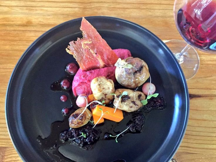 Guinea fowl and pinot