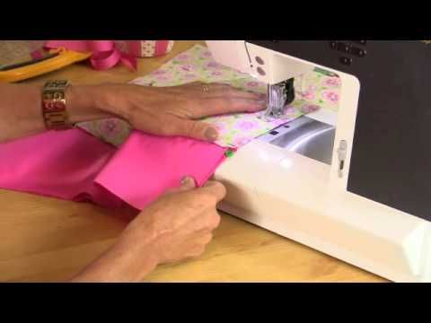 Pillowcase baby dress tutorial by Debbie Shore - YouTube