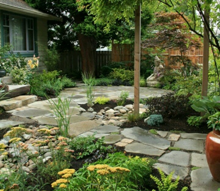 8 best Park-like Setting Backyard images on Pinterest ... on No Grass Garden Ideas  id=71604