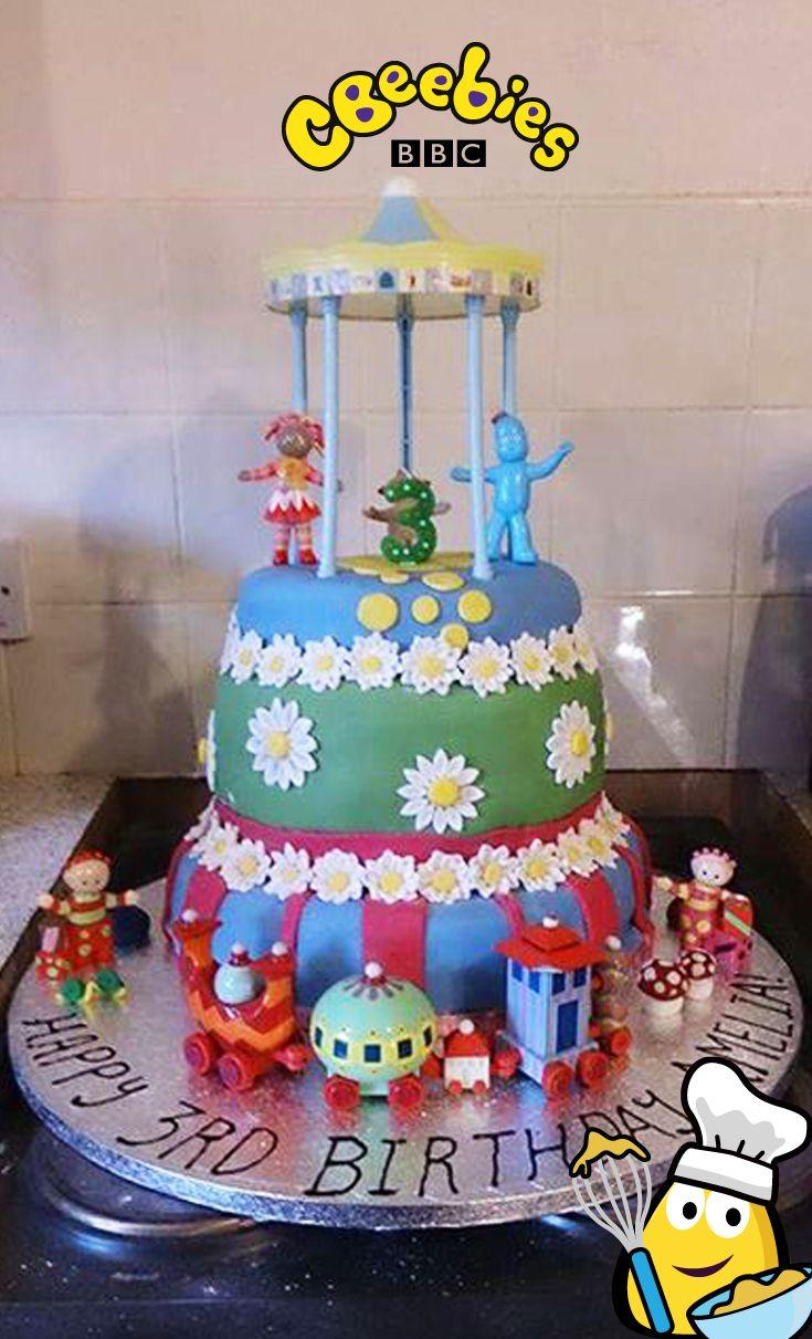 In The Night Garden Birthday Cake Tesco