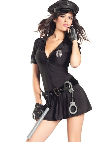8pc cop mrs law costume loverslane sexycostume copcostume sexy halloween