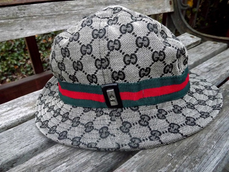 Vintage Genuine Gucci Bucket Crusher Rain Hat by WildAboutVintage, $49.99
