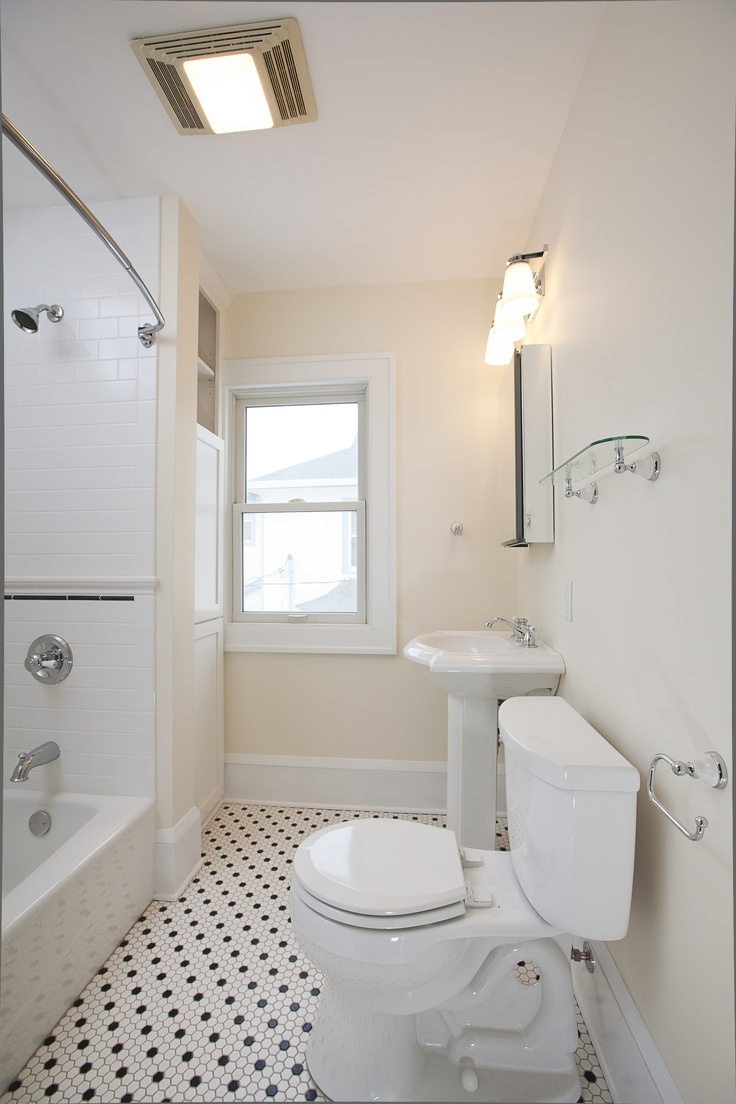 This 1918 Minneapolis Bath Design Was Scaled Back With An Emphasis On Re Sale Value And Budget