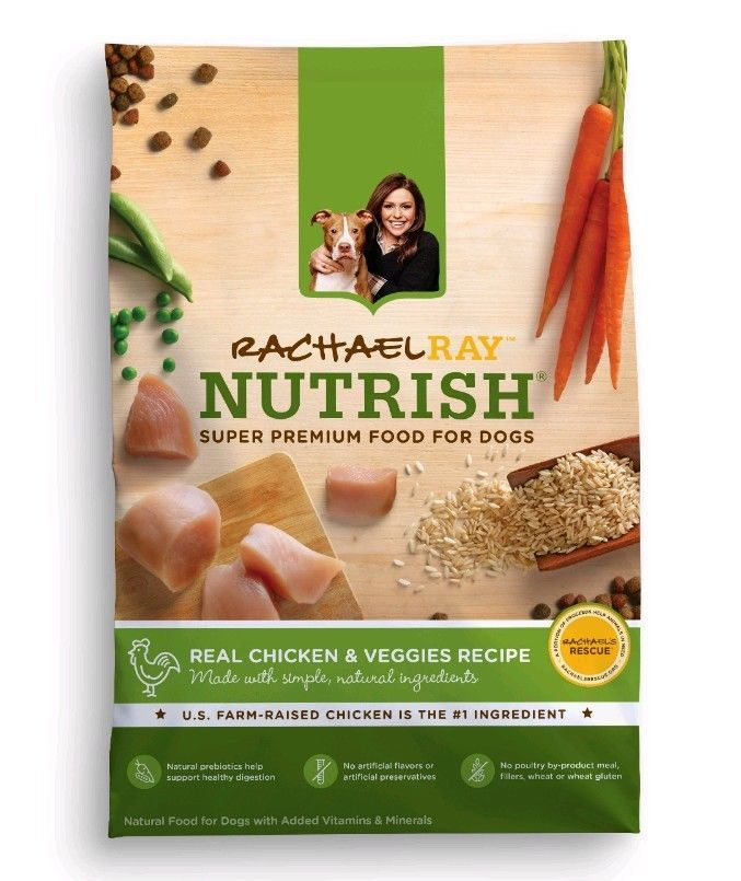 Best Organic Dog Food Nutrish Real Chicken & Veggies Rachel Ray 40lb FREE SHIP! #RachaelRayNutrish