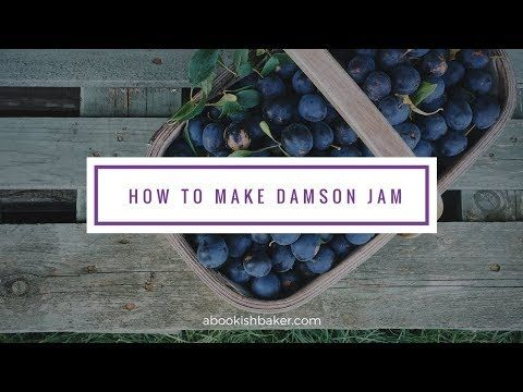How to make damson jam - YouTube