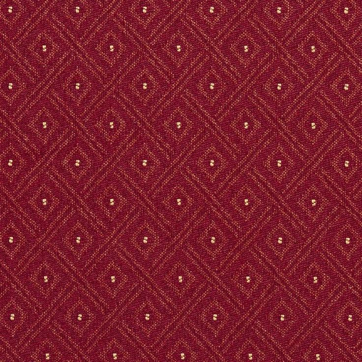 Burgundy Red Diamond Crypton Contract Grade Upholstery